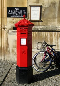 UK Post Office box