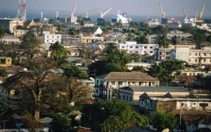 Banjul, capital of the Gambia